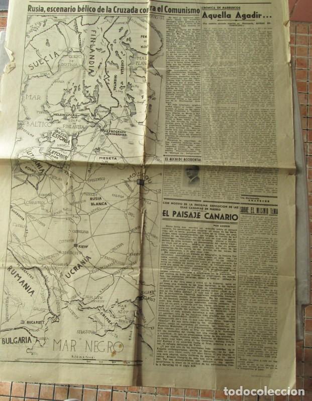 Coleccionismo de Revistas y Periódicos: AMANECER - ZARAGOZA - 3 / 7 / 1941 - CRONICA DE LA BATALLA DE STALINGRADO - Foto 4 - 112211235
