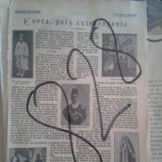 Coleccionismo de Revistas y Periódicos: COREA. KOREA. 1904.. Lote 111411455