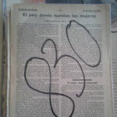 Colecionismo de Revistas e Jornais: TIBET. LADAKS. 1904.. Lote 111411747