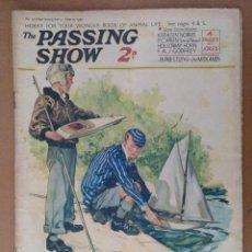 Coleccionismo de Revistas y Periódicos: REVISTA THE PASSING SHOW Nº 118 JUNIO 1934 CON 4 PAGINAS DE HUMOR TEXTO EN INGLES . Lote 112232287