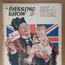 Coleccionismo de Revistas y Periódicos: REVISTA THE PASSING SHOW Nº 120 JULIO 1934 CON 4 PAGINAS DE HUMOR TEXTO EN INGLES . Lote 112232415