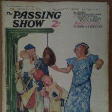 Coleccionismo de Revistas y Periódicos: REVISTA THE PASSING SHOW Nº 119 JUNIO 1934 CON 4 PAGINAS DE HUMOR TEXTO EN INGLES. Lote 112234987