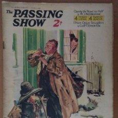 Coleccionismo de Revistas y Periódicos: REVISTA THE PASSING SHOW Nº 146 ENERO 1935 CON 4 PAGINAS DE HUMOR TEXTO EN INGLES. Lote 112235103