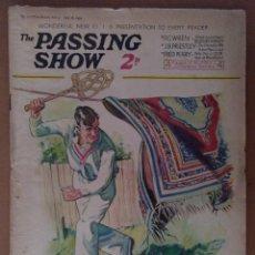 Coleccionismo de Revistas y Periódicos: REVISTA THE PASSING SHOW Nº 117 JUNIO 1934 FRED PERRY CON 4 PAGINAS DE HUMOR TEXTO EN INGLES. Lote 112236083