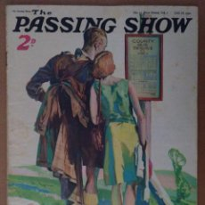 Coleccionismo de Revistas y Periódicos: REVISTA THE PASSING SHOW Nº 13 JUNIO 1932 DUNLOP TYRES CON TEXTO EN INGLES LA MECA. Lote 112236195