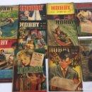 Coleccionismo de Revistas y Periódicos: REVISTA HOBBY, DE LOS AÑOS 1949 Y 50, MAQUETAS, CONSTRUCCIÓN, PLANOS, JUGUETES, MANUALIDADES ETC. Lote 112243563
