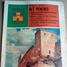 Coleccionismo de Revistas y Periódicos: CASTILLOS CATALUÑA 1975 ALT PENEDES GELIDA MEDIONA SANT MARTI SARROCA -LAS ENCANTADAS DEL PENEDES. Lote 112248283