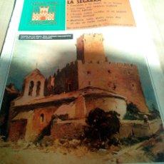 Coleccionismo de Revistas y Periódicos: CASTILLOS CATALUÑA 1975 LA SEGARRA CONCABELLA-LES SITGES-L'ARANYÓ-MONTFALCÓ-SANAUJA. Lote 112279835