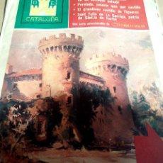 Coleccionismo de Revistas y Periódicos: CASTILLOS CATALUÑA 1975 ALT EMPORDAREQUESENS PERELADA CASTILLO FIGUERES SANT FELIU DE LA GARRIGA. Lote 112280339
