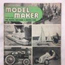 Coleccionismo de Revistas y Periódicos: MODEL MAKER 1951, MODELISMO, COCHES, AVIONES, BARCOS, MAQUETAS, PLANOS CONSTRUCCIÓN, USA. Lote 112308283