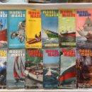 Coleccionismo de Revistas y Periódicos: MODEL MAKER, AÑO COMPLETO! 1957 MODELISMO, COCHES, AVIONES, BARCOS, MAQUETAS,PLANOS CONSTRUCCIÓN,USA. Lote 112338475