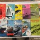 Coleccionismo de Revistas y Periódicos: MODEL MAKER & MODEL BOATS AÑO COMPLETO 1965 !! , BARCOS, MAQUETAS,PLANOS CONSTRUCCIÓN,USA. Lote 112340423