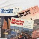 Coleccionismo de Revistas y Periódicos: MODEL BOATS, 3 REVISTAS DE 1969, BARCOS, MAQUETAS,PLANOS CONSTRUCCIÓN,USA. Lote 112341795