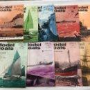 Coleccionismo de Revistas y Periódicos: MODEL BOATS, 9 REVISTAS DE 1966, BARCOS, MAQUETAS,PLANOS CONSTRUCCIÓN,USA. Lote 112343055