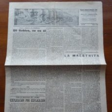 Coleccionismo de Revistas y Periódicos: II REPÚBLICA, LA VOZ DE SEGOVIA, 23 DICIEMBRE DE 1933, 4 PAGS. Lote 195220490