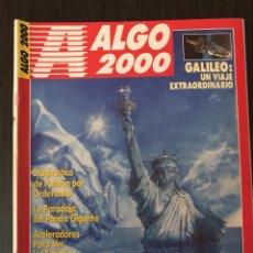 Coleccionismo de Revistas y Periódicos: ALGO 2000 - FEBRERO 1990. Lote 112380458