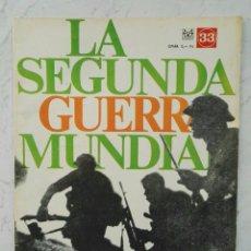 Coleccionismo de Revistas y Periódicos: LA SEGUNDA GUERRA MUNDIAL REVES BRITÁNICO EN DIEPPE N° 33 CODEX. Lote 112380563