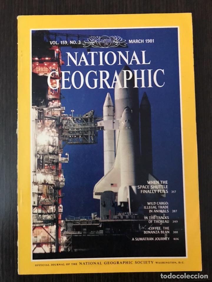 NATIONAL GEOGRAPHIC - MARCH 1991 - INGLÉS (Coleccionismo - Revistas y Periódicos Modernos (a partir de 1.940) - Otros)