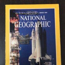 Coleccionismo de Revistas y Periódicos: NATIONAL GEOGRAPHIC - MARCH 1991 - INGLÉS. Lote 112380704