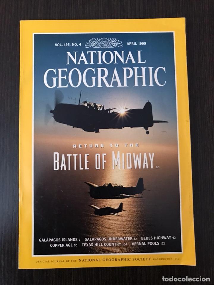 NATIONAL GEOGRAPHIC - ABRIL 1999, INGLÉS (Coleccionismo - Revistas y Periódicos Modernos (a partir de 1.940) - Otros)