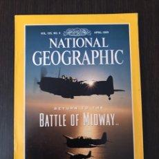 Coleccionismo de Revistas y Periódicos: NATIONAL GEOGRAPHIC - ABRIL 1999, INGLÉS. Lote 112380759