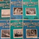 Coleccionismo de Revistas y Periódicos: LE MODELE REDUIT DE BATEAU, 1965 REVISTA BIMESTRAL FRANCESA, BARCOS, MODELISMO,MAQUETAS,CONSTRUCCIÓN. Lote 112412983