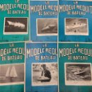 Coleccionismo de Revistas y Periódicos: LE MODELE REDUIT DE BATEAU, 1966 REVISTA BIMESTRAL FRANCESA, BARCOS, MODELISMO,MAQUETAS,CONSTRUCCIÓN. Lote 112413783