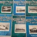 Coleccionismo de Revistas y Periódicos: LE MODELE REDUIT DE BATEAU, 1964 REVISTA BIMESTRAL FRANCESA, BARCOS, MODELISMO,MAQUETAS,CONSTRUCCIÓN. Lote 112415079
