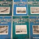 Coleccionismo de Revistas y Periódicos: LE MODELE REDUIT DE BATEAU, 1963 REVISTA BIMESTRAL FRANCESA, BARCOS, MODELISMO,MAQUETAS,CONSTRUCCIÓN. Lote 112415955