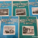 Coleccionismo de Revistas y Periódicos: LE MODELE REDUIT DE BATEAU, 1962 REVISTA BIMESTRAL FRANCESA, BARCOS, MODELISMO,MAQUETAS,CONSTRUCCIÓN. Lote 112416571
