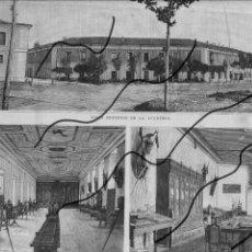 Coleccionismo de Revistas y Periódicos: VALLADOLID 1894 ACADEMIA DE CABALLERIA HOJA REVISTA. Lote 112416923