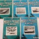 Coleccionismo de Revistas y Periódicos: LE MODELE REDUIT DE BATEAU, 1960 REVISTA BIMESTRAL FRANCESA, BARCOS, MODELISMO,MAQUETAS,CONSTRUCCIÓN. Lote 112416955