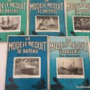 Coleccionismo de Revistas y Periódicos: LE MODELE REDUIT DE BATEAU, 1957 REVISTA BIMESTRAL FRANCESA, BARCOS, MODELISMO,MAQUETAS,CONSTRUCCIÓN. Lote 112418143