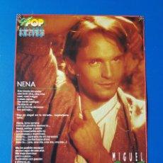 Coleccionismo de Revistas y Periódicos: MIGUEL BOSE - NENA (LETRA CANCION) + WHAM - RECORTE SUPER POP/SUPERPOP. Lote 112430620