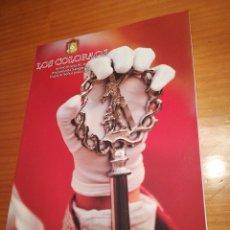 Coleccionismo de Revistas y Periódicos: REVISTA LIBRO LOS COLORAOS DE LA COFRADÍA DE LA PRECIOSISMO SANGRE DE CRISTO DE MURCIA. Lote 112443295