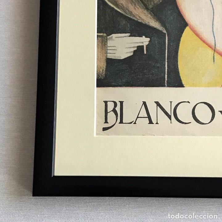 Coleccionismo de Revistas y Periódicos: Portada revista Blanco y negro art deco enmarcada - Foto 4 - 112445491