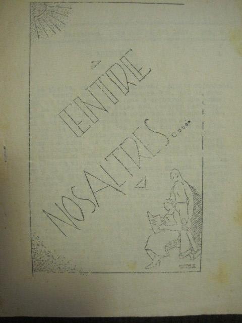 Coleccionismo de Revistas y Periódicos: GUERRA CIVIL-REVISTA - ENTRE NOSALTRES -1937-EL CANT DE LA SENYERA - VEURE FOTOS -(V-13.440) - Foto 3 - 112445519