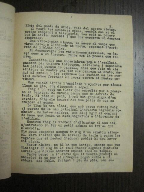 Coleccionismo de Revistas y Periódicos: GUERRA CIVIL-REVISTA - ENTRE NOSALTRES -1937-EL CANT DE LA SENYERA - VEURE FOTOS -(V-13.440) - Foto 7 - 112445519