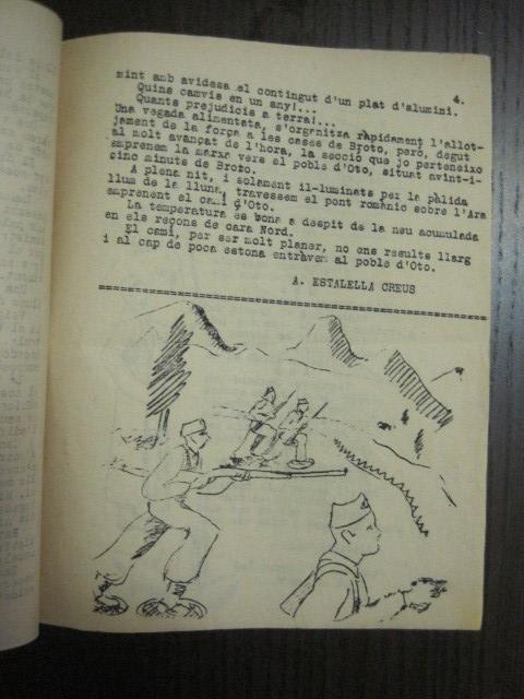 Coleccionismo de Revistas y Periódicos: GUERRA CIVIL-REVISTA - ENTRE NOSALTRES -1937-EL CANT DE LA SENYERA - VEURE FOTOS -(V-13.440) - Foto 8 - 112445519