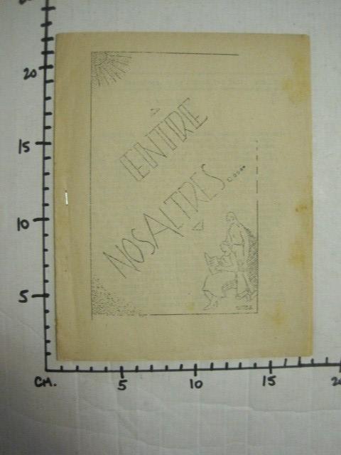 Coleccionismo de Revistas y Periódicos: GUERRA CIVIL-REVISTA - ENTRE NOSALTRES -1937-EL CANT DE LA SENYERA - VEURE FOTOS -(V-13.440) - Foto 13 - 112445519