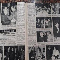 Coleccionismo de Revistas y Periódicos: MARIO MORENO CANTINFLAS EN MADRID CARMEN SEVILLA PAQUITA RICO MASSIEL. Lote 278636893