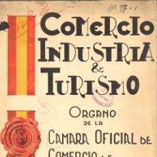 Coleccionismo de Revistas y Periódicos: COMERCIO INDUSTRIA & TURISMO. ÓRGANO DE LA CÁMARA OFICIAL DE COMERCIO DE ESPAÑA EN LISBOA. Lote 112499263
