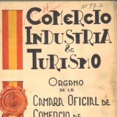 Coleccionismo de Revistas y Periódicos: COMERCIO INDUSTRIA & TURISMO. ÓRGANO DE LA CÁMARA OFICIAL DE COMERCIO DE ESPAÑA EN LISBOA. Lote 112499947
