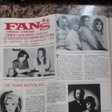 Coleccionismo de Revistas y Periódicos: EUROVISION LADY LADY BRAVO CULTURE CLUB BOY GEORGE. Lote 279426323