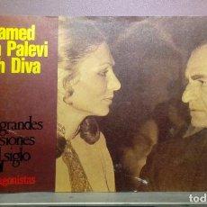Coleccionismo de Revistas y Periódicos: LAS GRANDES PASIONES DEL SIGLO , PROTAGONISTAS . MOHAMED REZA PALEVI FARAH DIVA. Lote 112512883