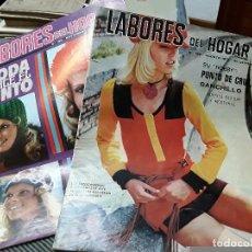 Coleccionismo de Revistas y Periódicos: LOTE DE DOS REVISTAS DE LABORES DEL HOGAR. N°159. Y 162. Lote 112577643