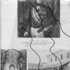 Coleccionismo de Revistas y Periódicos: VALLADOLID 1894 ACADEMIA DE CABALLERIA HOJA REVISTA. Lote 112588259