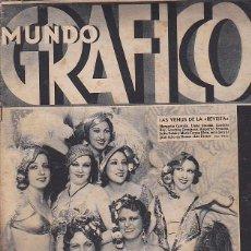 Coleccionismo de Revistas y Periódicos: REVISTA MUNDO GRAFICO 11 NOVIEMBRE 1931. Lote 112603475