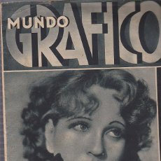 Coleccionismo de Revistas y Periódicos: REVISTA MUNDO GRAFICO 10 FEBRERO 1932. Lote 112603583