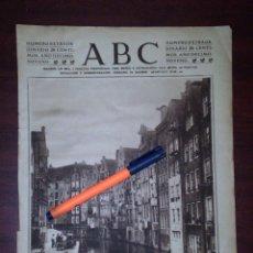 Coleccionismo de Revistas y Periódicos: CANAL ACHTERBURGWAL -AMSTERDAM -1923 FOTOGRAFIA ANIMADA DE RECORTE PRENSA -REV, HENO PRAVIA. Lote 112614203